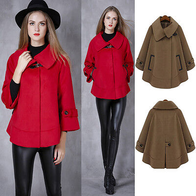 Pregnancy Maternity Coat Jacket Poncho Cape Outwear 4 6 8 10 12 14 16 18 20