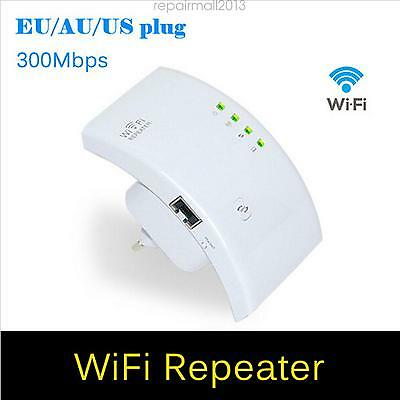 300Mbps Wireless Internet Wifi Router Repeater Extender Booster Tablet Laptop RM