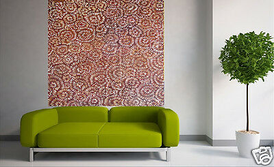 Aboriginal Art Painting  bush flowers  landscape  art large canvas jane crawford