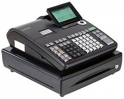 Casio One Sheet Thermal Cash Compartment Money Register LCD Cashier Display