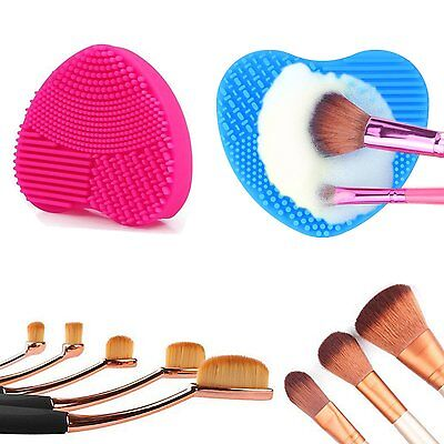 Silicone Cleaning Cosmetic Makeup Brush Foundation Washing Brush Cleaner Finger