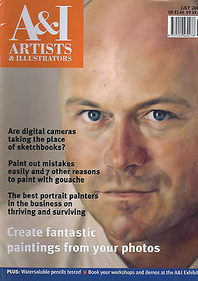 Artists And Illustrators Magazine Issue No 190 July 2002.