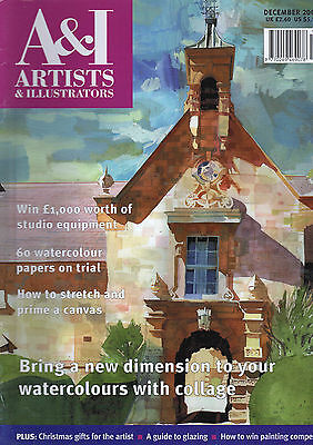Artists And Illustrators Magazine Issue No 207 December 2003. Christmas Edition
