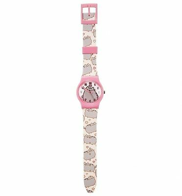 Official Fan-Cat-Stic Pusheen Childs Analogue Watch with Plastic Strap for Kids