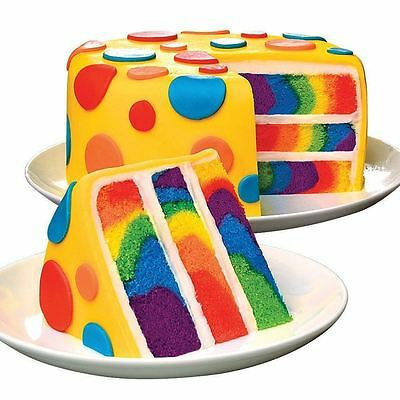 Duff Goldman Tie Dye Rainbow Birthday Baking Cake Mix