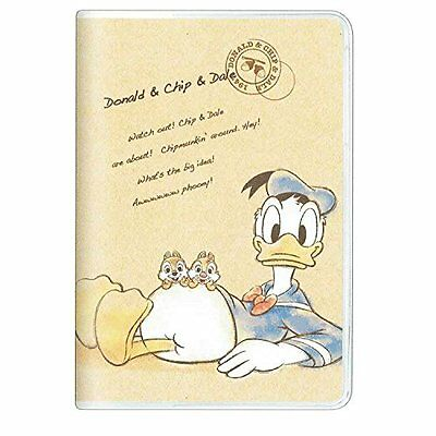 Disney Donald,Chip & Dale  2017 diary schedule Book B6 monthly 84264 Kamio Japan
