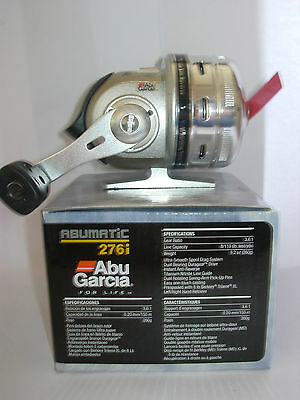 ABU GARCIA ABUMATIC 276i Spincast Fishing Reel 9.2oz 8lb