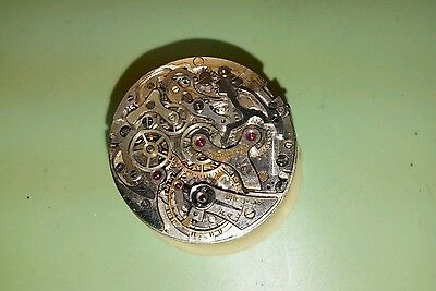 vintage Valjoux caliber 23/ Doxa 264 chronograph watch movement for parts