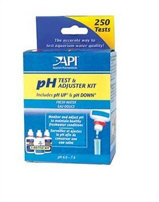 API test & adjuster kit, includes pH up & pH Down