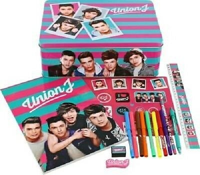 NEW Union J Limited Edition Collectable Tin *Stationery