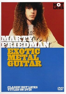 Hot Licks: Marty Friedman - Exotic Metal Guitar E-Gitarre DVD (Region 0)