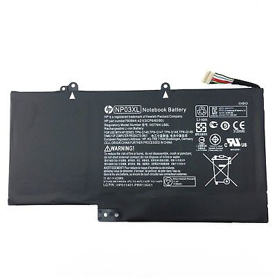New Genuine NP03XL HSTNN-LB6L Battery for HP Pavilion X360 13-A010DX TPN-Q149