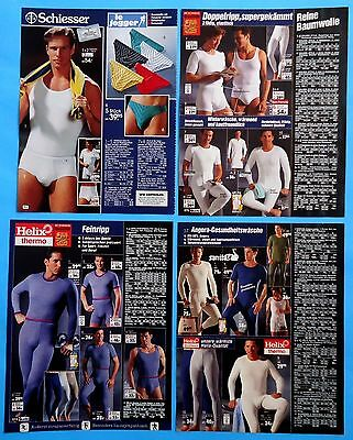 Men's Underwear Pajamas Catalog Clippings 40 pages Ad print
