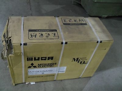 Mitsubishi outdoor MUYGE12NA2 12,000 BTU for cooling