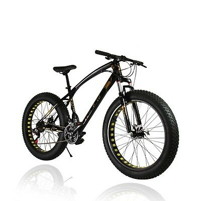 "Bicicleta Todo Terreno. Fat bike de 26"" *4."