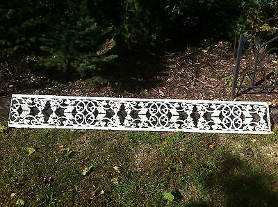 Vintage Cast Iron Grape Vine Porch Post Architectural Salvage Shabby like chic d