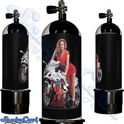 2106 Scubacool Scuba Dive Gas Cylinder Tank Cover NOT neoprene