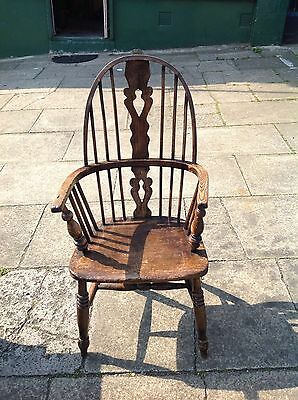 Antique Windsor Chair Oak? Marks NW