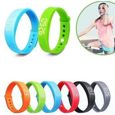 3D Smart Wrist Watch Pedometer Bracelet Tracker Step Walking Jogging sport ]