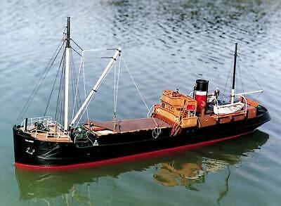 Caldercraft SS Talacre Steam Coaster 1:48 Scale RC or Static Display Kit
