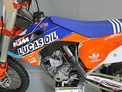 KTM SX/SXF 125-450 2013-2015 Lucas Oil replica graphics,plastics + seat cover