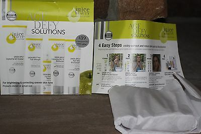 JUICE BEAUTY Age Defy Solutions For Brightening & Correcting Uneven Skin Tone