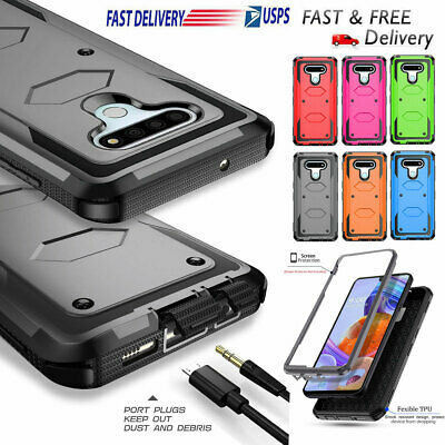 For LG K10 / K20 V K20 Plus Case Hybrid Armor Dual Layer Protective Phone Cover
