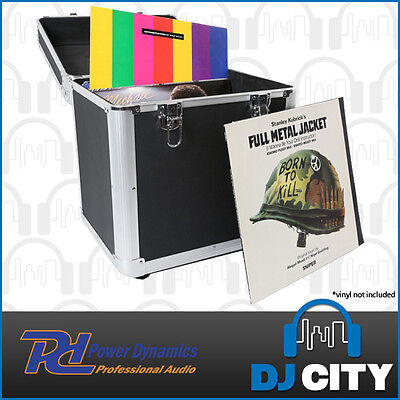 "PD RC100B Pro LP Record Road Case - Holds 100 12"" Records - Great for DJs"
