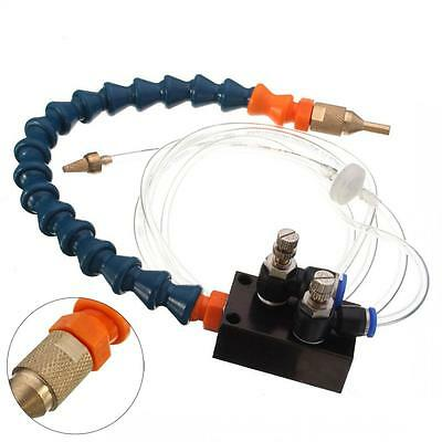 Mist Coolant Lubrication Cooling Spray System for Metal Cutting Engraving Tool