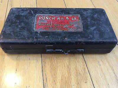 Vintage Roper Whitney No.5 JR Hole Punch Early Model