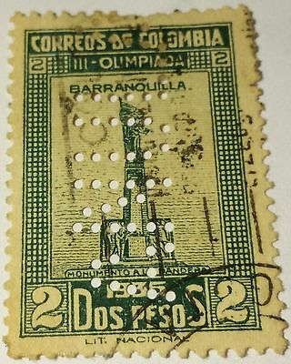 Colombia   Scott#434   Used .....worldwide Stamps
