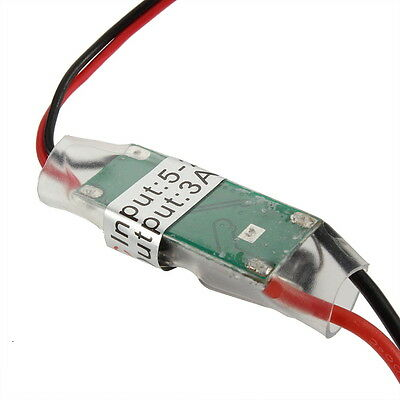 BEC UBEC 3A 5V Brushless Receiver Servo Power Supply for RC Airplane Aircraft DP