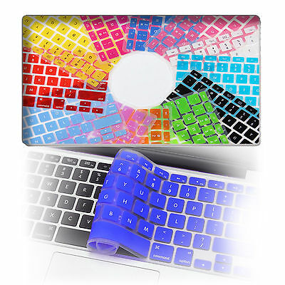 Silikon Tastatur Schutz Hülle Keyboard MacBook Air Pro Retina 11,6 UK Cover Skin