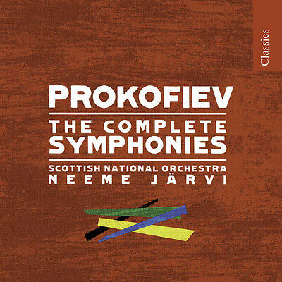 Syms - S. Prokofiev (2008, CD NEU) Jarvi4 DISC SET