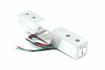 Aluminium Weight Sensor Module 5kg YZC-133 HX711 Arduino Flux Workshop