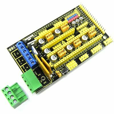 Keyestudio RAMPS 1.4 Shield KS-154 RepRap Arduino MEGA 3D Printer Flux Workshop