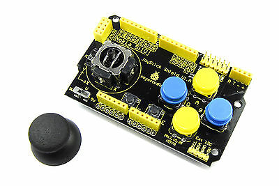 Keyestudio UNO Joystick Keypad Shield KS-153 V1 Nokia nRF MEGA I2C Flux Workshop