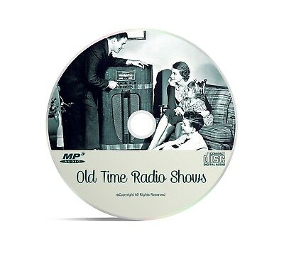 Quiet Please OTR 89 Horror Old Time Radio Shows Huge Mp3 CD
