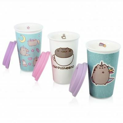 New Pusheen Emoji Sticker Cat Cute Ceramic Coffee Tea Mug