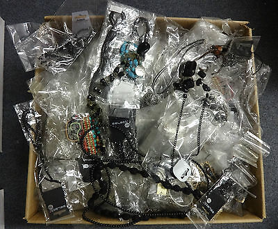 Wholesale/joblot  500+ Items Of Assorted Jewellery Brand New  Next Day Delivery