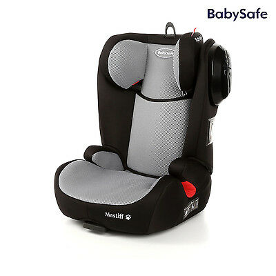 Babysafe Mastiff Grey child seat Isofix (15-36kg) European