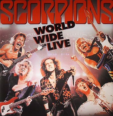 SCORPIONS - World Wide Live (Deluxe Edition) (remastered) - Vinyl (2xLP)