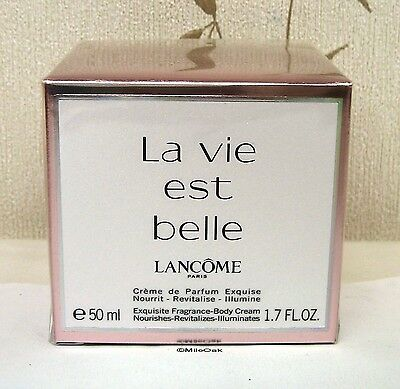 Lancome La Vie Est Belle Exquisite Fragrance Body Cream BNIB Sealed