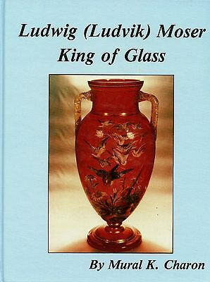 Bohemian Moser Art Glass - History Marks Signatures Etc. / Illustrated Book
