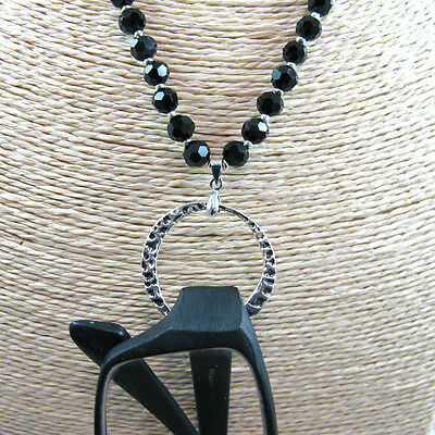Black Eyeglass Reading Glasses Sunglasses Spectacles Holder Necklace Chain Cord