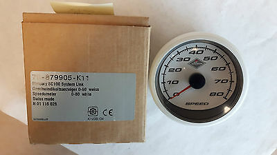 Mercury    SC100  System  Speedometer  Gauge   White  79-879905-K11, Out of box