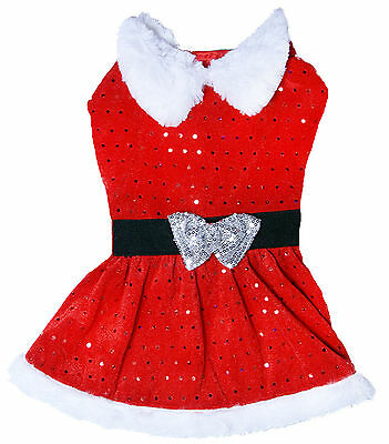 Dog Life Christmas Mrs Claus Santa Suit For Dogs Medium Xmas Costume
