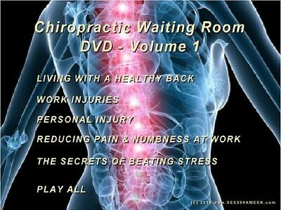 The See300Aweek Chiropractic Waiting Room Dvd - Vol 1