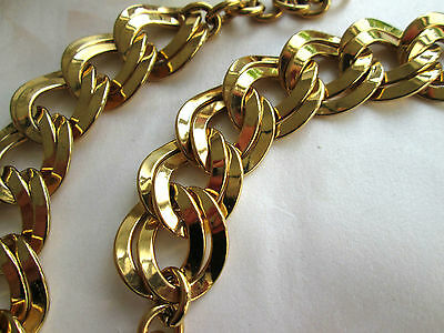 60/70er USA Vintage Designer MONET sign. Statement Collier Halskette Choker