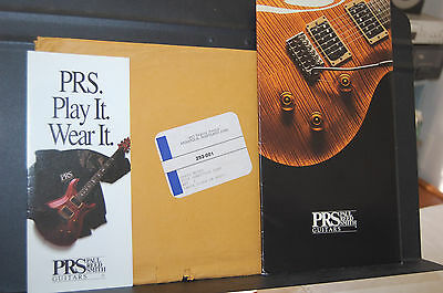 1993 PRS Paul Reed Smith Catalog Poster